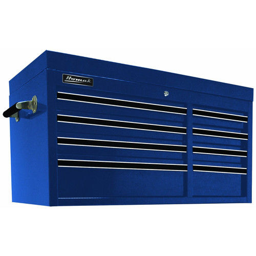Homak BL02008410 41 in. 8 Drawer Professional Top Chest (Blue)