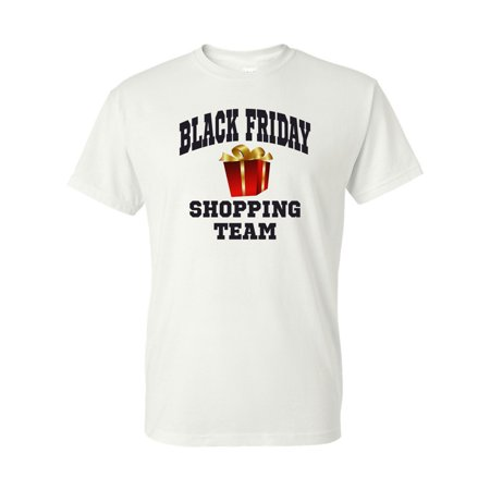 Black Friday Shopping Team Christmas Mens Womens T-Shirt Top