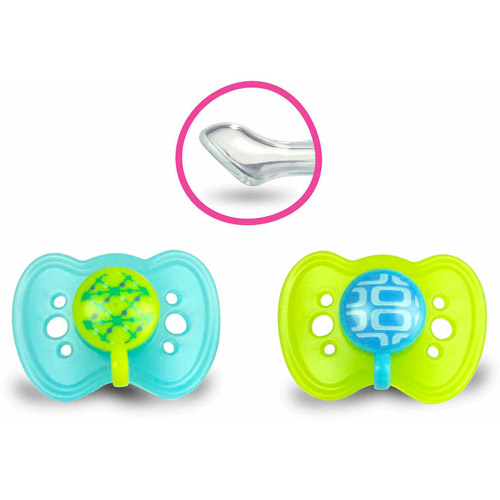 The First Years Gumdrop Ortho Pacifier, 2pk, 0-6 months