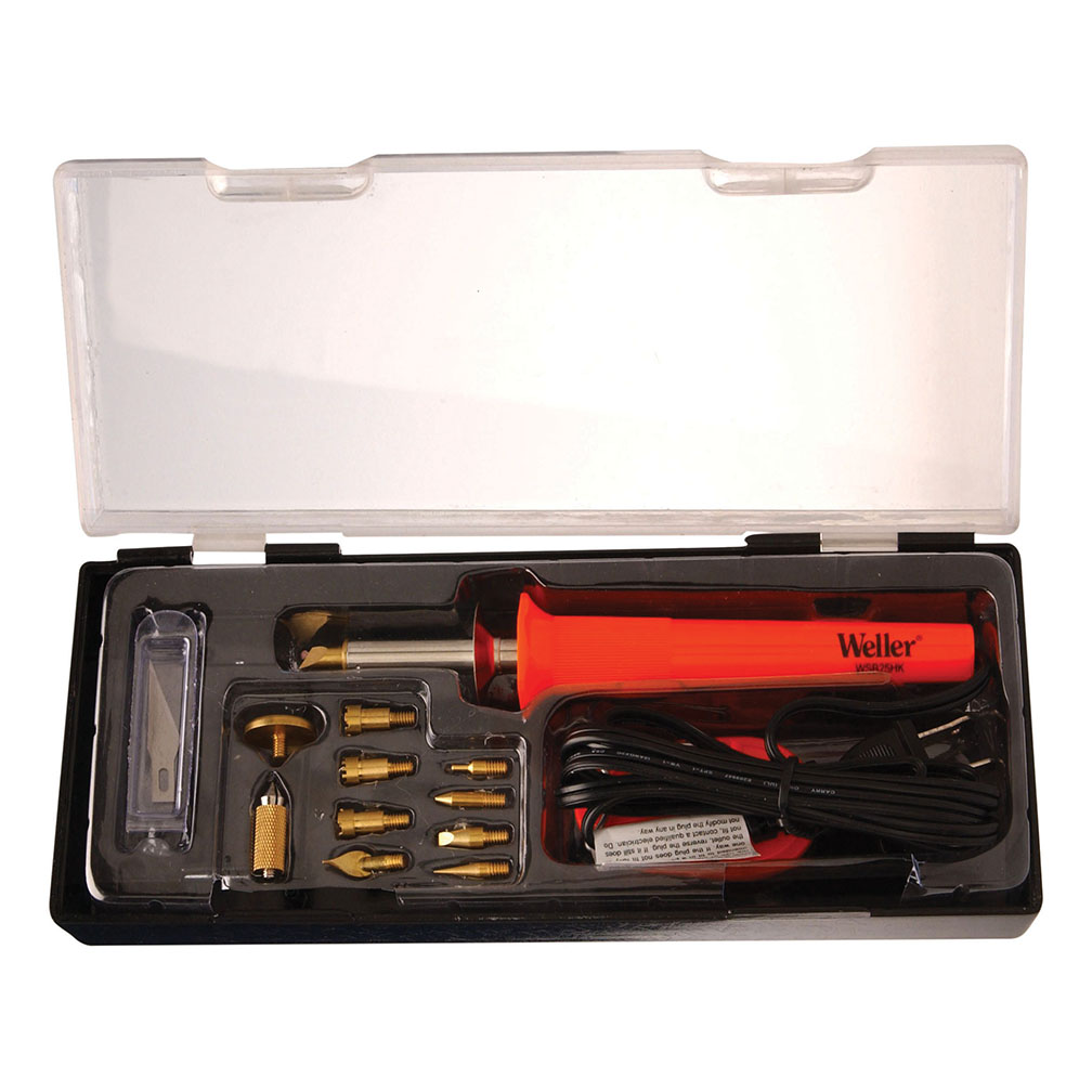 Apex Tool Group, LLC-Tools WSB25WB 15-Piece, 25-Watt Short Barrel Woodburning Kit
