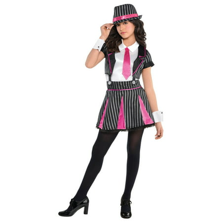 1920s Gangster Doll Girls Costume