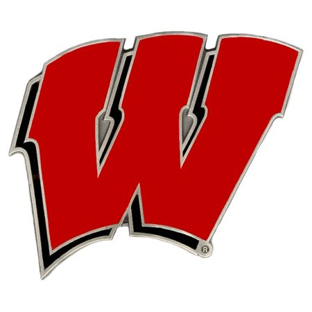 Wisconsin Badgers Official NCAA  Trailer Hitch Cover by Siskiyou