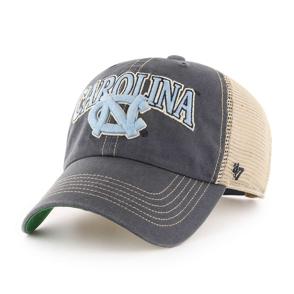 North Carolina Tar Heels '47 Brand Tuscaloosa Clean Up Adjustable Hat