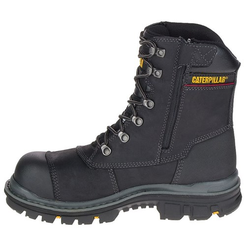 """CAT Footwear Premier 8 Inch Tx Composite Toe - Black 9.5(M) Premier 8 Inch Waterproof Tx Composite Toe Mens Work Boot"""