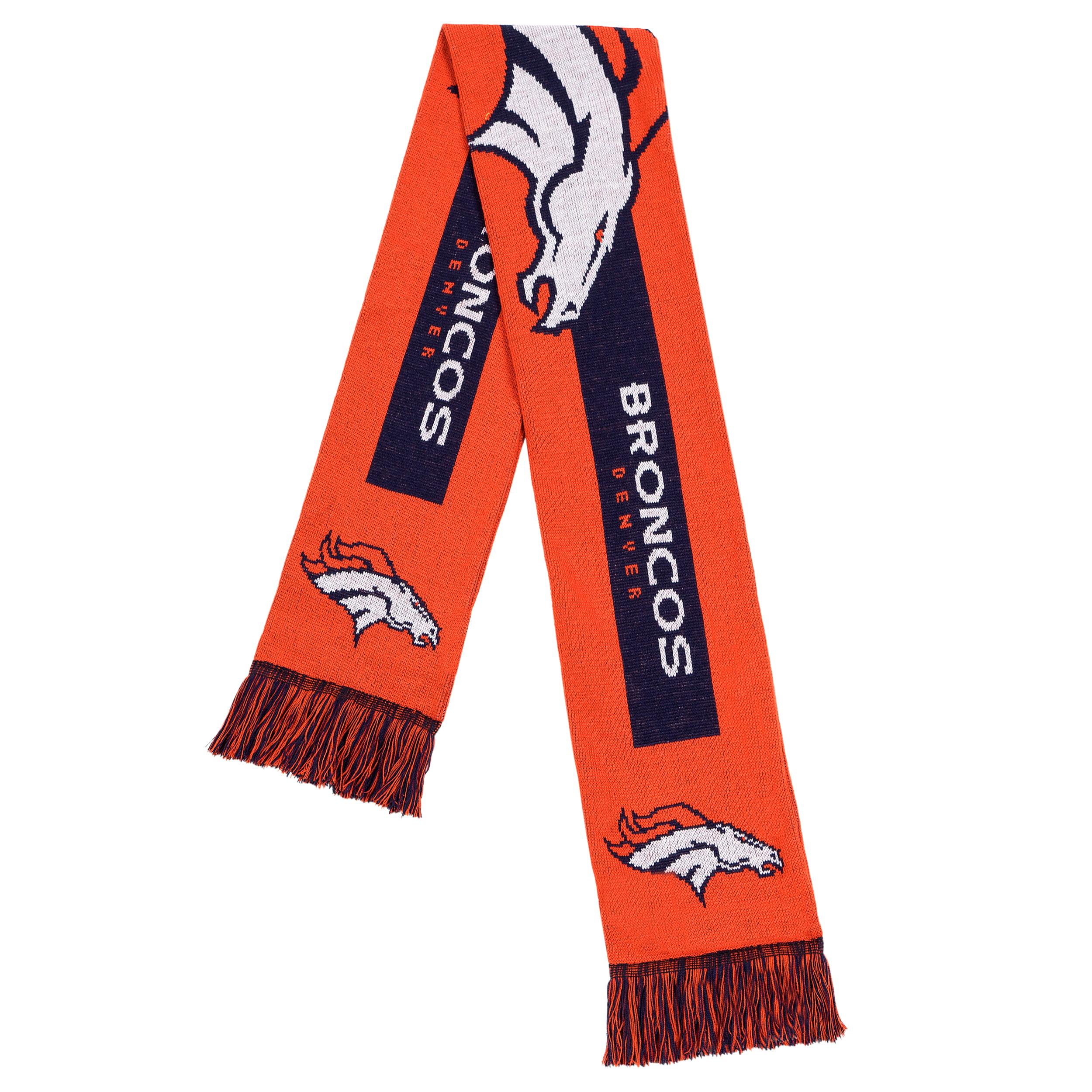 Forever Collectibles - NFL Adult Big Logo Scarf, Denver Broncos