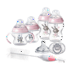 Tommee Tippee Closer to Nature, Newborn Baby Bottle Feeding Set, Pink, Girl