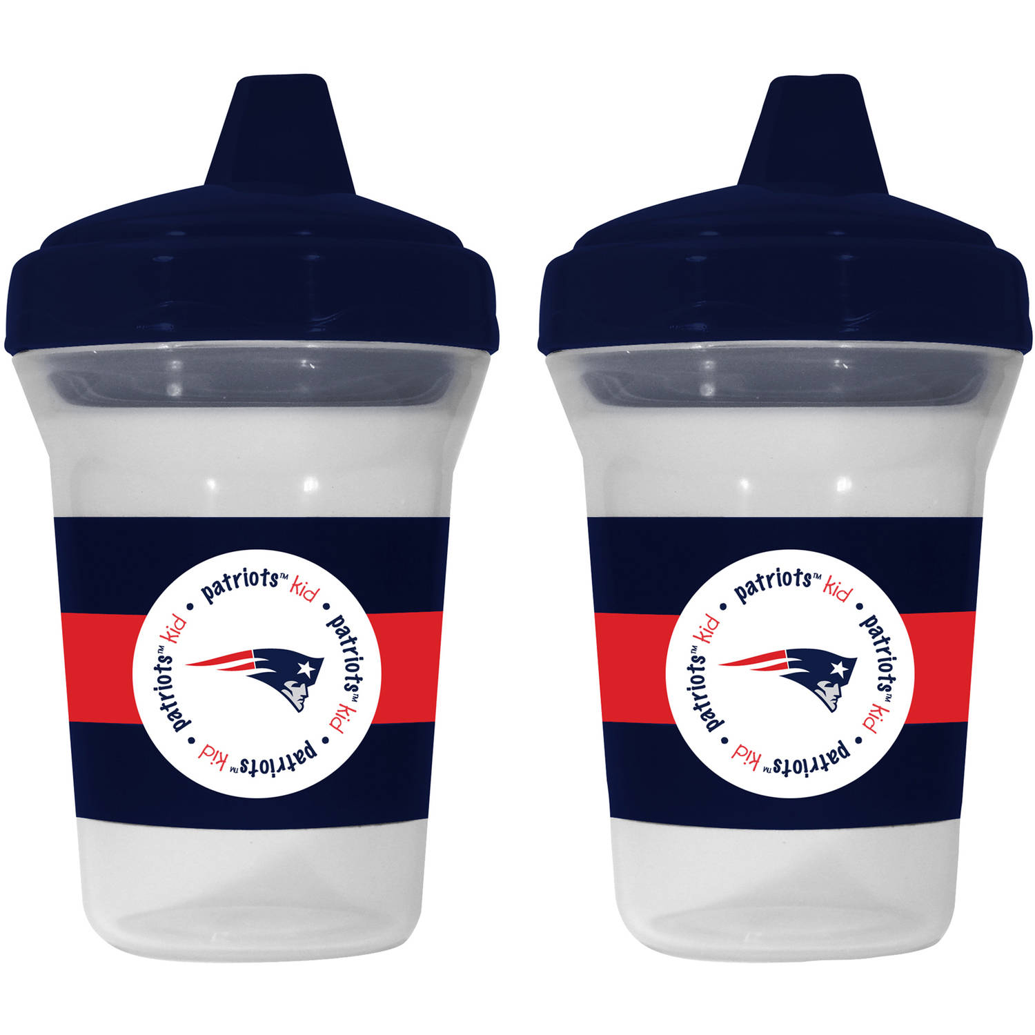 Baby Fanatic New England Patriots Sippy Cup, 2pk