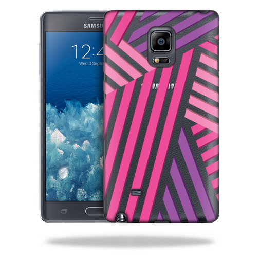 MightySkins Snap-On Protective Hard Case Cover for Samsung Galaxy Note Edge Lipstick