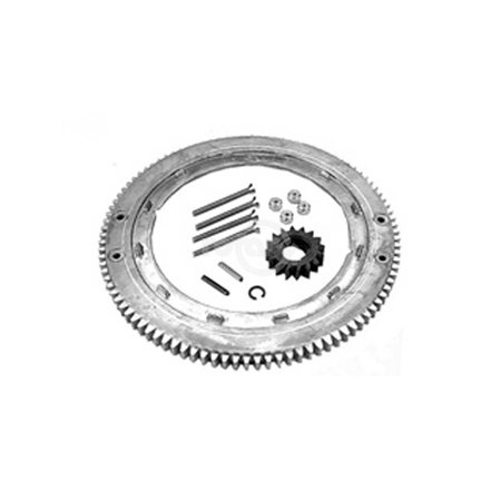 28 Kit - Flywheel Starter Ring Gear Replacement Kit. Replaces Plastic Gear. Fits Model 28 Series Engines. Replaces B&S #399676/#392134.