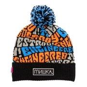 Mishka Mens The Wave Etd Pom Beanie Hat