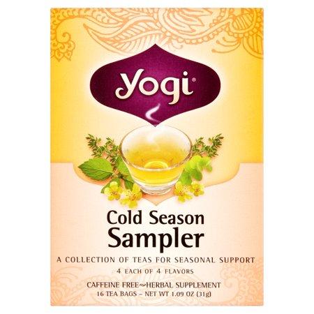 Yogi Thé bio - échantillon froid - 16 sachets de thé