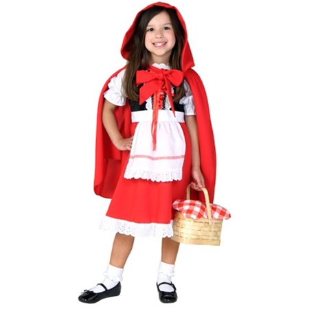 Toddler Little Red Riding Hood Costume - Woodcutter Little Red Riding Hood
