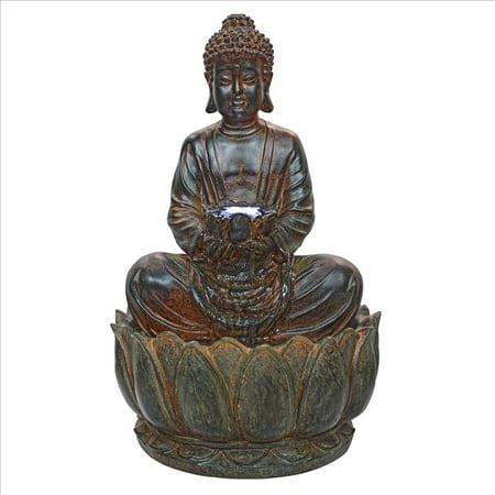 Design Toscano Endless Serenity Buddha Sculptural Fountain ()