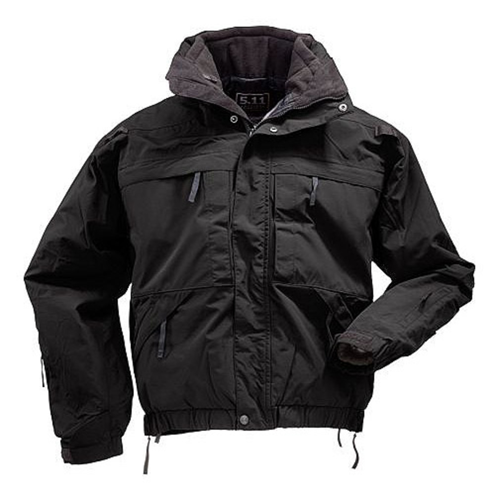 5.11 Tactical 5-in-1 Jacket, Black