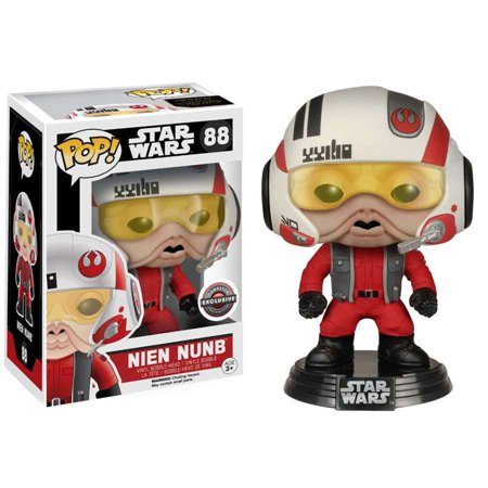 Funko POP! Star Wars Nien Nunb Vinyl Bobble Head [Helmet]