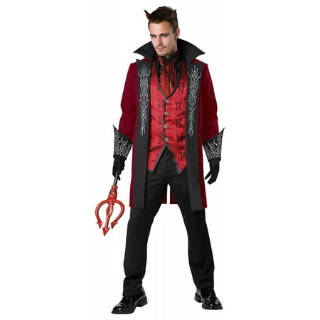 Prince of Darkness Adult Costume - Large (Prince Musician Costume)