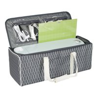 Everything Mary Craft Tote for Die Cut Machines - Cricut, Brother, Silhouette, Air, Maker, Explore, & Cameo - Travel Carry Case for Machine, Vinyl, & Accessories