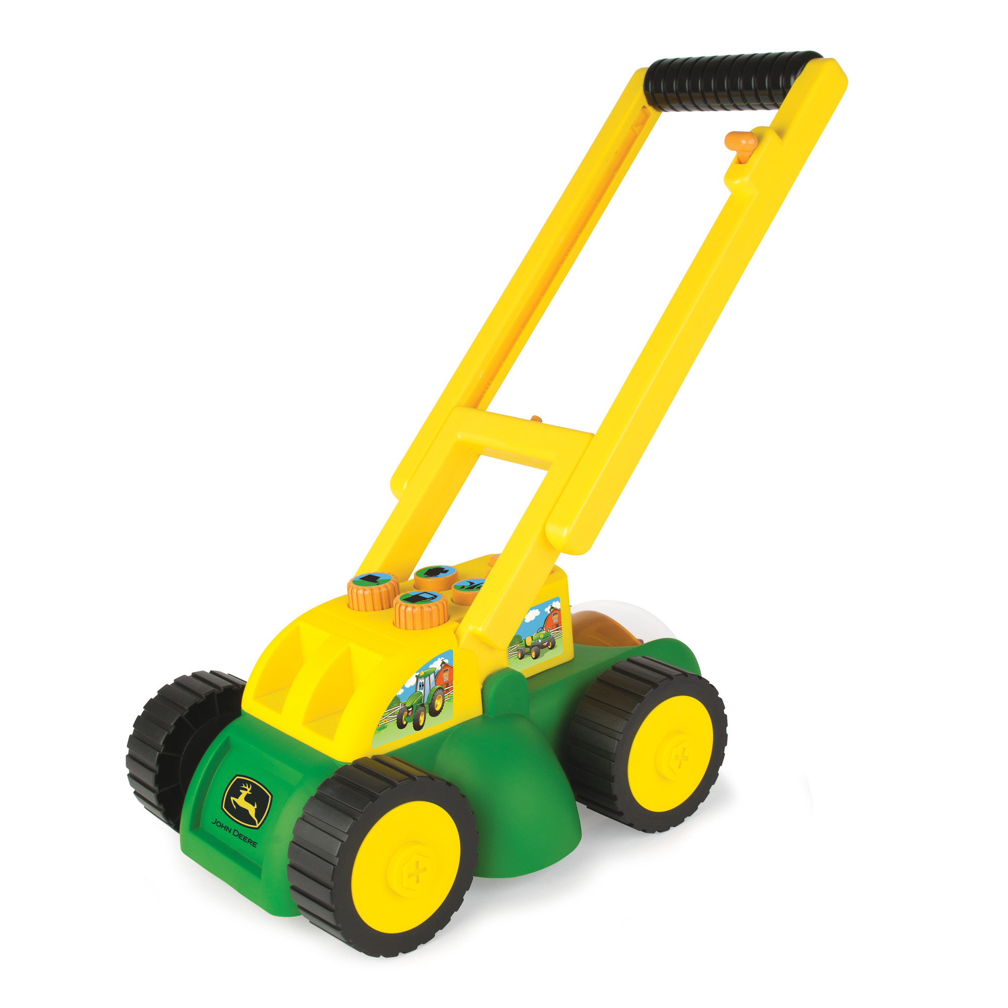 Tomy - John Deere Real Sounds Lawn Mower