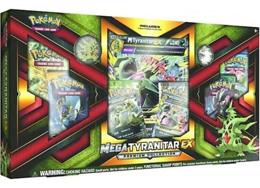 Pokemon Tcg Mega Tyranitar Ex Premium Collection Walmart Com