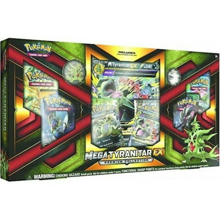 Pokemon TCG: Mega Tyranitar EX Premium Collection