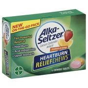 Bayer Consumer Care Alka Seltzer Heartburn Relief Chews, 6 ea