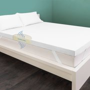 """HoMedics Gel-Infused 3"""" Cool Breeze Memory Support Mattress Topper, 1 Each"""