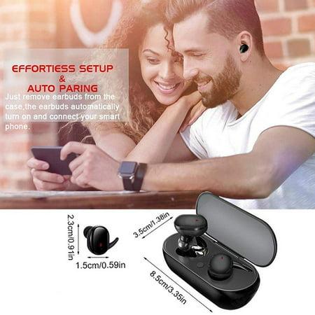 Y30 Wireless Headset Sports Outdoor Headset 5.0 Binaural Stereo Mini Headset - image 4 of 5