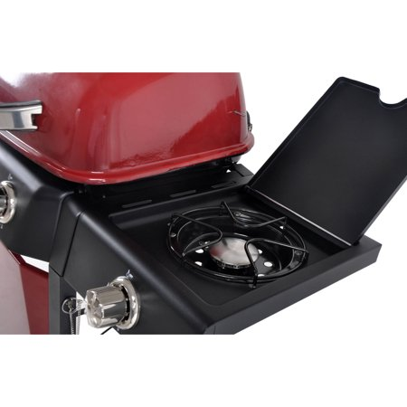 RevoAce 3-Burner LP Gas Grill with Side Burner, Red Sedona, GBC1729WRS