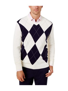 77b157ba1 Product Image Club Room Mens Argyle Knit Pullover Sweater