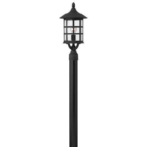 Hinkley Lighting  1801-GU24  Post Lights  Freeport  Outdoor Lighting  Pier Mount Lights  ;Black