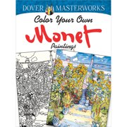 Dover Publications Dover Masterworks: Monet Paintings