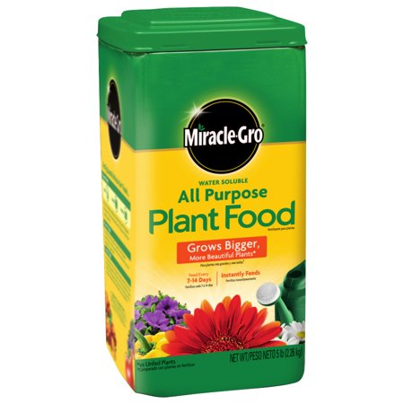 Outdoor Plant Food - Miracle-Gro Water Soluble All Purpose Plant Food, 5#