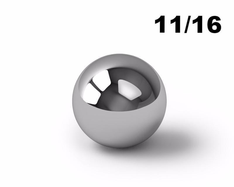 "25 11//16/"" nylon precision bearing balls"