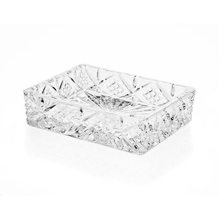 Godinger Crystal Dublin Soap Tray