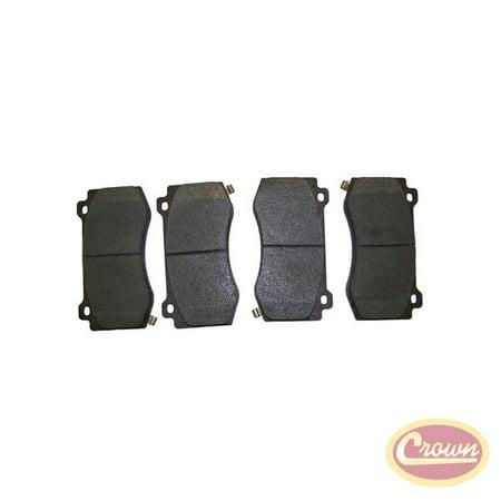 Crown Automotive 5174311AB CAS5174311AB DISC BRAKE PAD SET (FRONT) Crown Automotive Brake Pad