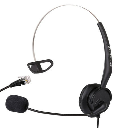 Avaya Phone Headsets (Telephone Headset for Avaya 1600 9600 1608 9608 9610 9611 9611G SNOM 320 360 370 720 760 Yealink T20P T22P T26P T28P)