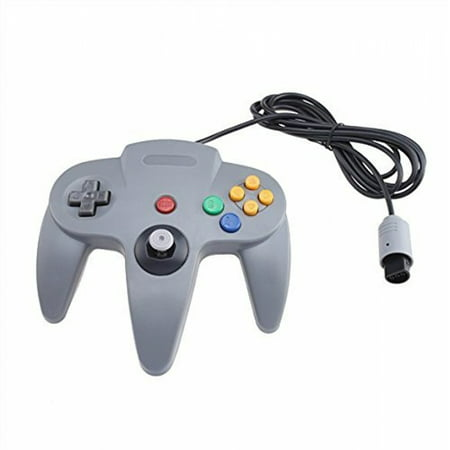 Classic Wired Controller Joystick for Nintendo 64 N64 Game System - Gray
