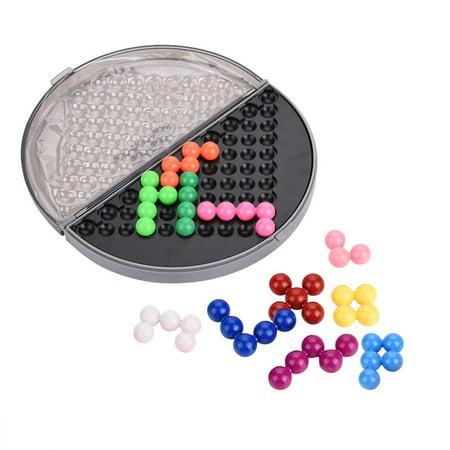 Qiilu Kids Educational Puzzle Set Parent-Child Intelligent Logic Beads Building Challenge Game Toys, Plastic Puzzle Set, Kids Puzzle Toy - image 11 de 13