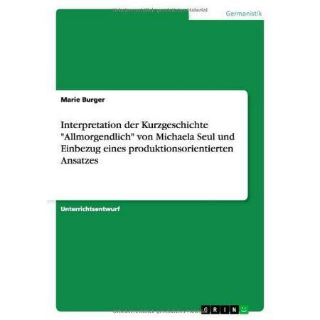 Interpretation Der Kurzgeschichte - image 1 of 1
