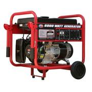 All Power 6000 Watt Generator, 6000W Gas Portable Generator for Home Use Emergency Power Backup, RV Standby, Storm Hurricane Damage Restoration Power Backup, APGG6000