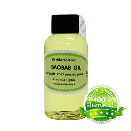 Dr. Adorable - 100% Pure Baobab Oil Organic Cold Pressed Natural Hair Skin Care Anti Aging - 2