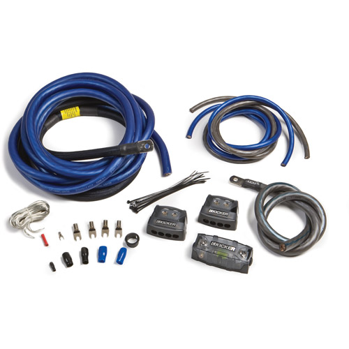 Kicker Dual 0/1-Gauge Amp Power Kit