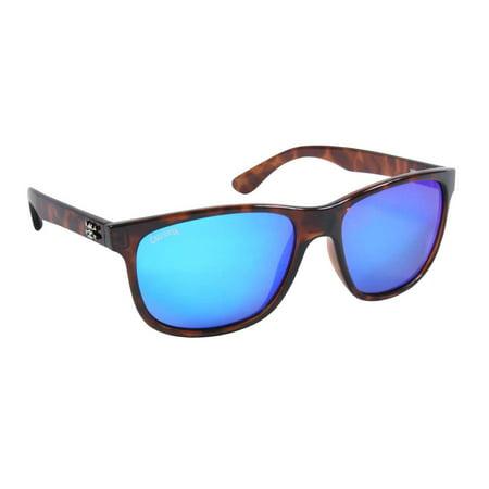 Calcutta Fishing CT1BMTORT Catalina Sunglasses, Tortoise Frame, Blue Mirror (Mens Calcutta Sunglasses)