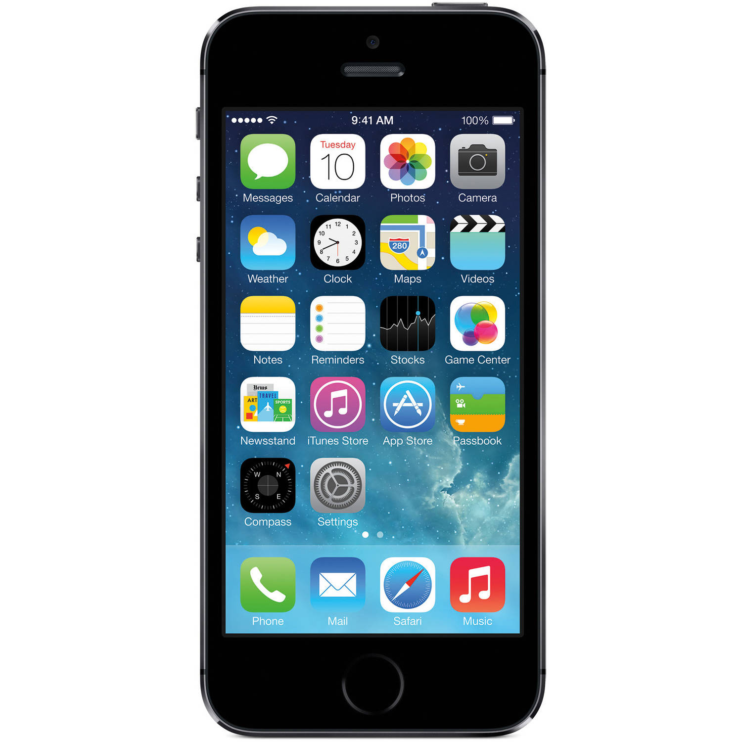 Straight Talk Apple iPhone 5S 16GB 4G LTE Prepaid Smartphone