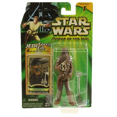 Star Wars - Power of the Jedi (POTJ) - Action Figure - CHEWBACCA (Mechanic)(3.75 inch) - Chewbacca Voice