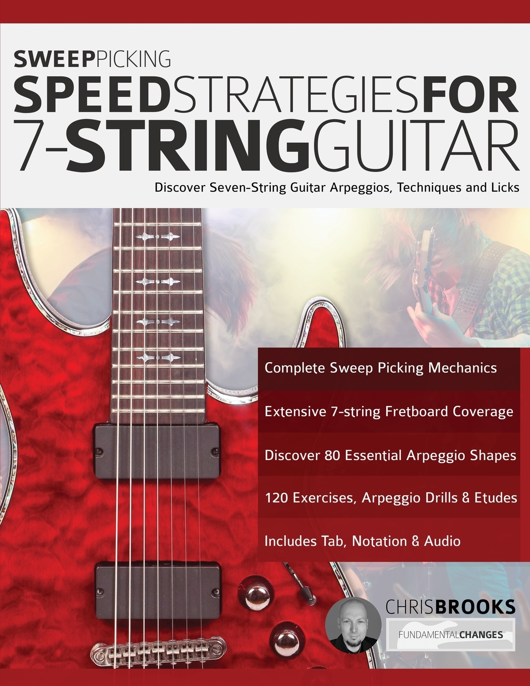 sweep picking speed strategies for 7-string guitar  paperback