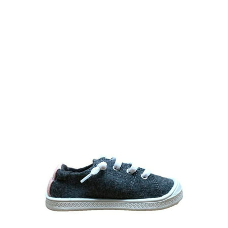 Wonder Nation Toddler Girls' Casual Bump Toe Sneaker