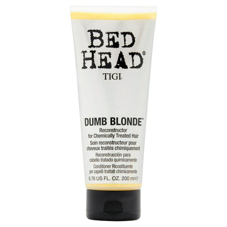 Tigi Bed Head Dumb Blonde Reconstructor for Chemically Treated Hair, 6.76 fl oz