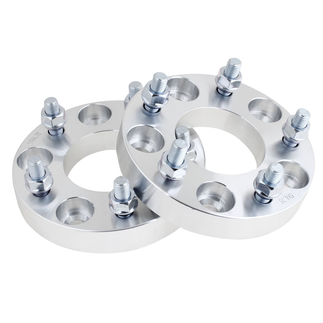 "2 Pcs 1"" Thickness Wheel Spacers 5x4.75"" Adapters 5 Lug 12x1.5 Studs for Lexus"