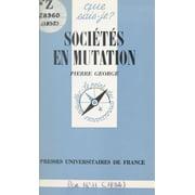 Sociétés en mutation - eBook